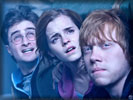 Harry Potter 7, Harry, Hermione & Ron