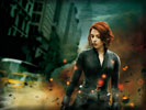 The Avengers: Scarlett Johansson as Black Widow