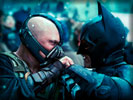 The Dark Knight Rises: Tom Hardy as Bane vs Christian Bale as Batman