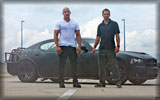 Fast Five: Dom and Brian with Dodge Charger