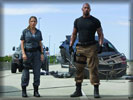 "Fast Five: ""The Rock"" and Elsa Pataky"