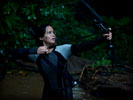Hunger Games: Catching Fire, Jennifer Lawrence as Katniss, Bow & Arrow