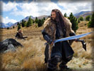 The Hobbit: Richard Armitage as Thorin Oakenshield, Sword