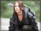 The Hunger Games: Jennifer Lawrence as Katniss Everdeen