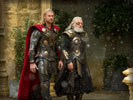 Thor: The Dark World, Chris Hemsworth & Anthony Hopkins
