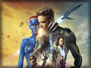 X-Men: Days of Future Past, Hugh Jackman & Jennifer Lawrence
