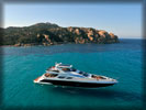 Beach and Sea, Azimut 100 Leonardo Yacht