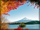 Mount Fuji, Autumn, Japan