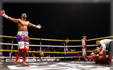 David Haye knocking down Monte Barrett