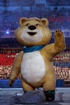 Sochi 2014 Winter Olympics Opening Ceremony, Mascot: Polar Bear